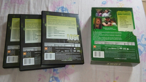 dvd original lost 3a temporada completa