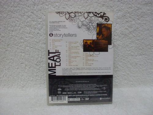 dvd original meat loaf- vh1 storytellers