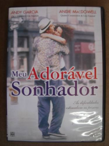 dvd original meu adorável sonhador andy garcia