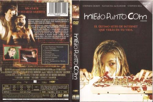 dvd original miedo punto com - dorff rea mcelhone