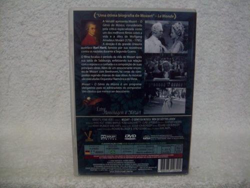 dvd original mozart- o gênio da música