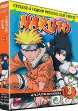 dvd original naruto vol. 03 - a floresta do chakra