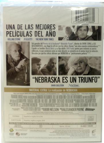 dvd original nebraska (drama) audio español (rz#7022)