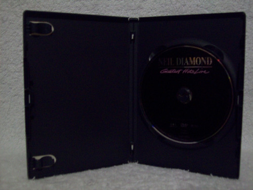 dvd original neil diamond- greatest hits live
