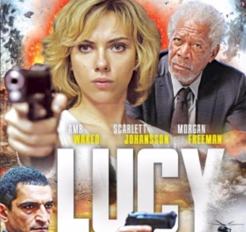dvd original nuevo : lucy ( despiadada ) super poderes menta