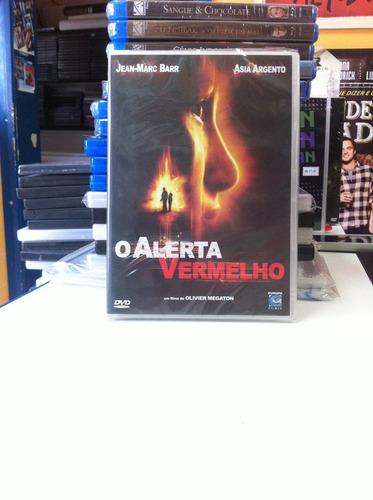 dvd original o alerta vermelho (asia argento) lacrado