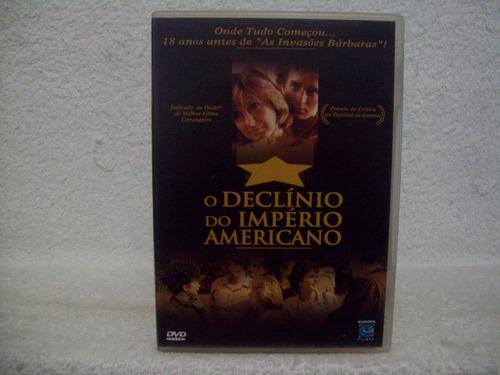 dvd original o declínio do império americano