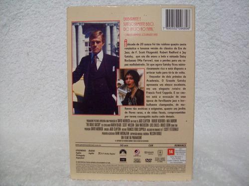 dvd original o grande gatsby- lacrado de fábrica