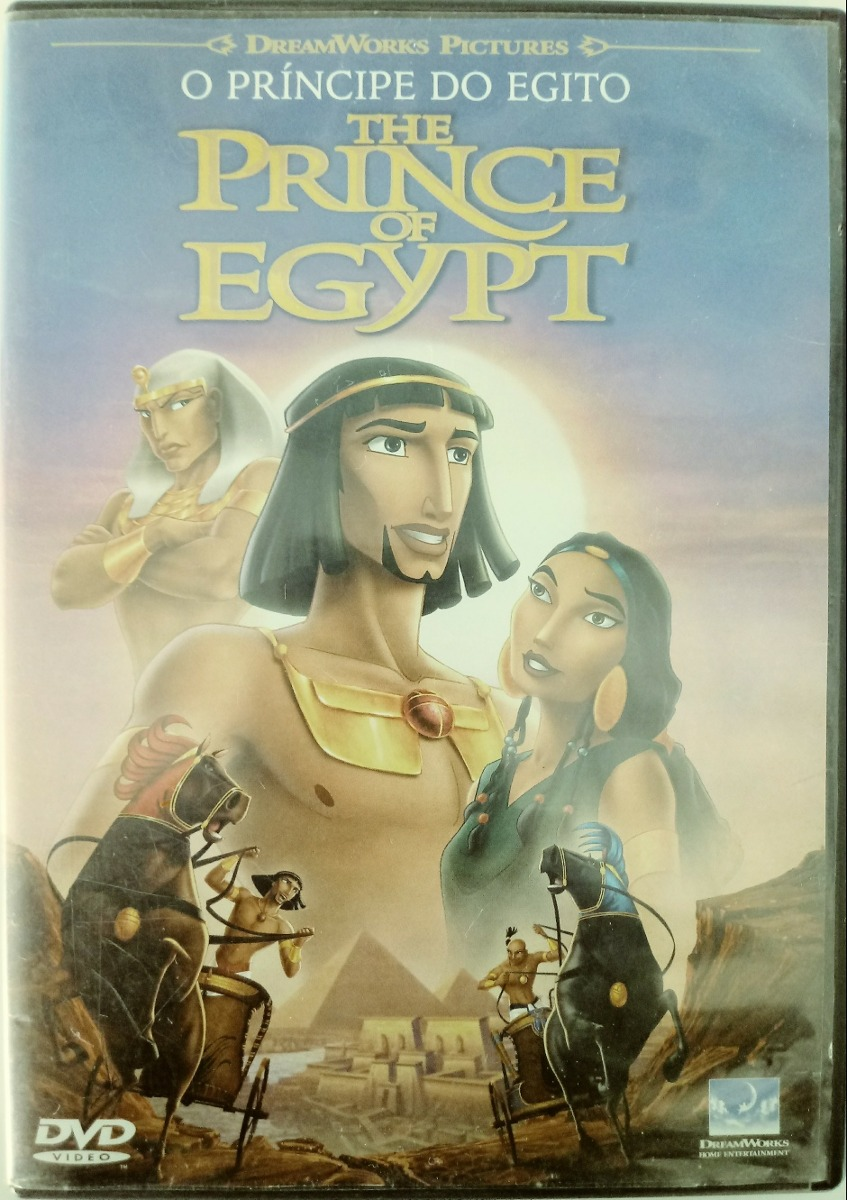 Dvd Original O Principe Do Egito Desenho Animado R 16 99 Em