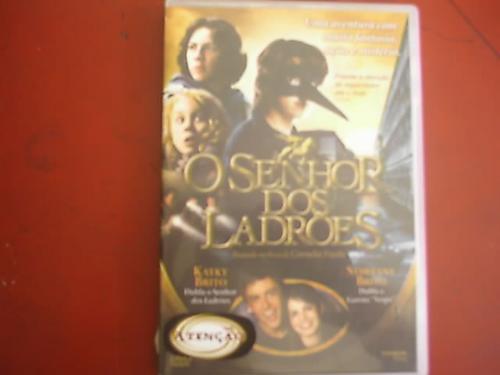 dvd original     o senhor dos ladrões