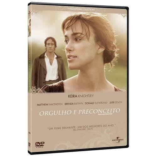 dvd original orgulho e preconceito (keira knightley)