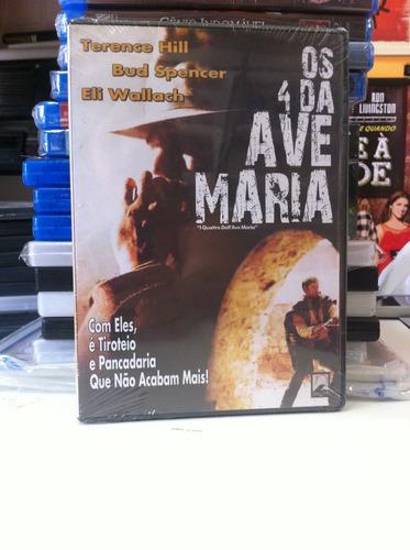 dvd original os 4 da ave maria (bud spencer) lacrado