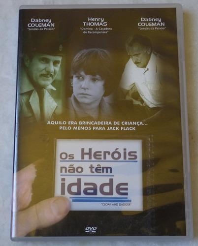 dvd original os heróis não tem idade