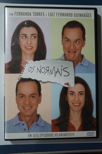 dvd original os normais em seis episódios hilariantes