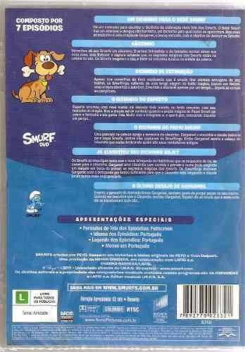 dvd original os smurfs animais (cx 01) ok