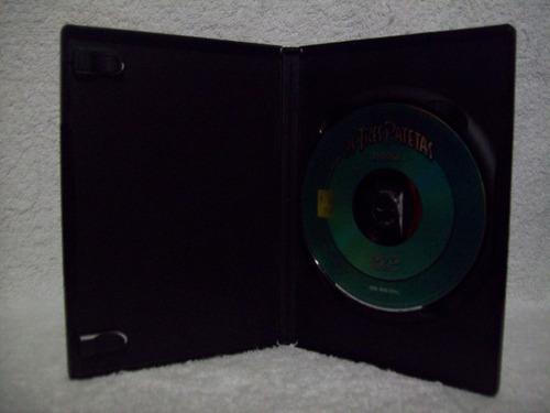 dvd original os três patetas- a fortaleza