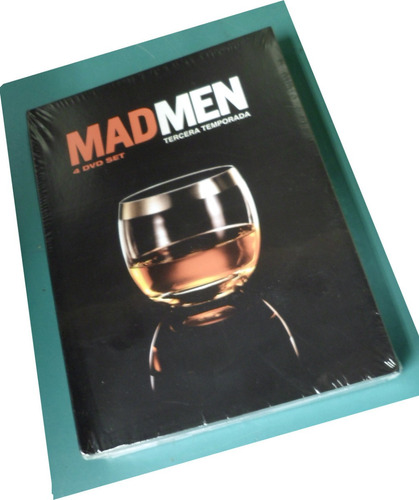 dvd original pack 4 dvd man men temporada 3 completa