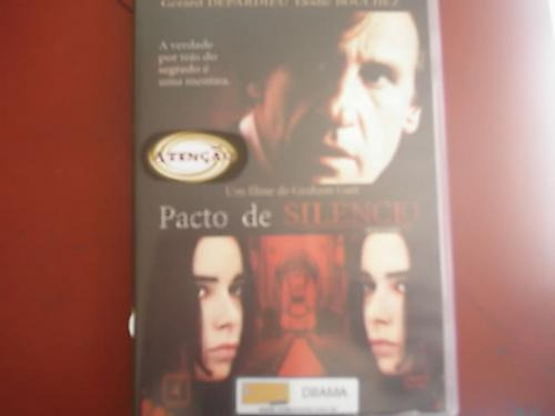 dvd original    pacto de silencio