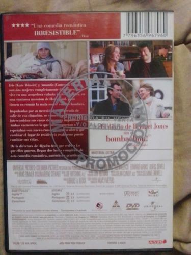dvd original película el descanso (the holiday)