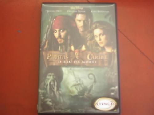 dvd original    piratas do caribe o baú da morte