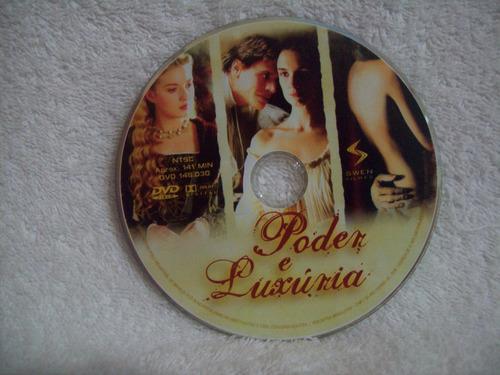 dvd original poder e luxúria