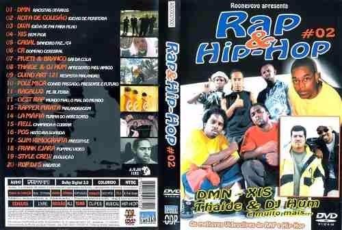 dvd original rap e hip-hop 2