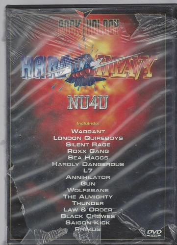 dvd original rock hology (cx 22) ok