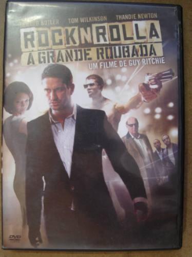 dvd original rock n rolla a grande roubada  f4