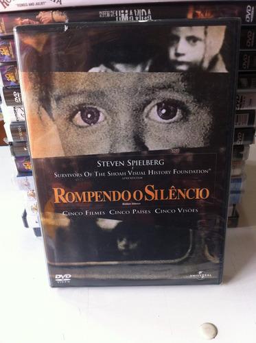 dvd original rompendo o silêncio [steven spielberg] lacrado
