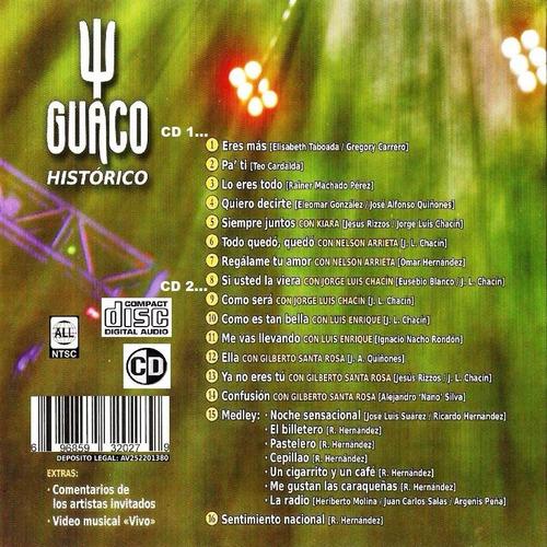 dvd original salsa guaco historico en vivo