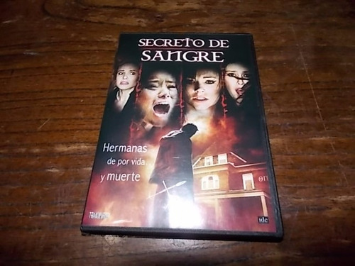 dvd original secreto de sangre - evigan willis fisher morris