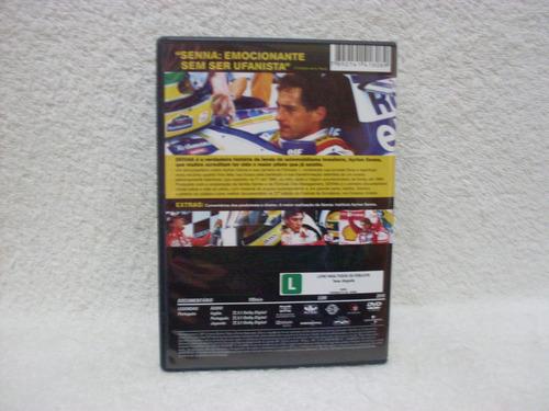 dvd original senna- o brasileiro, o herói, o campeão