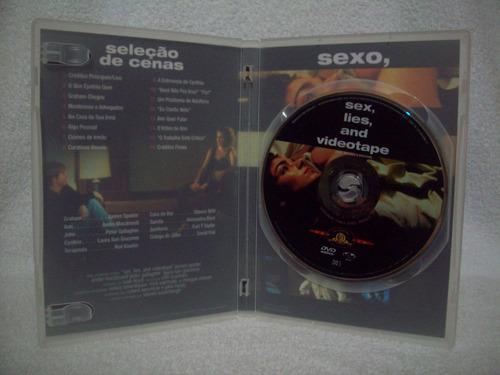 dvd original sexo, mentiras e videotape