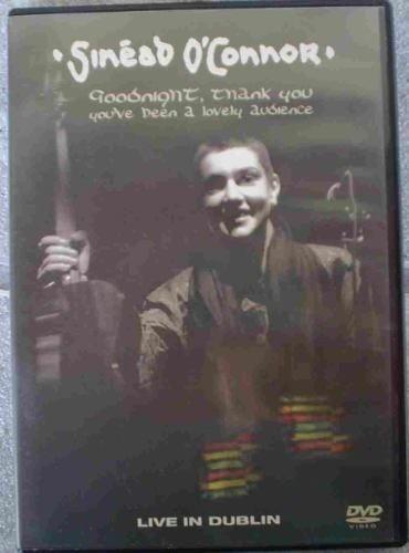 dvd original sinéad o'connor - live in dublin