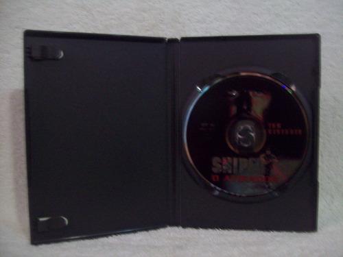 dvd original sniper- o atirador
