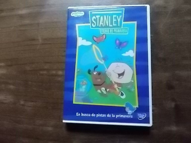 Dvd Original Stanley, Fiebre De Primavera - Playhouse Disney - $ 359,00