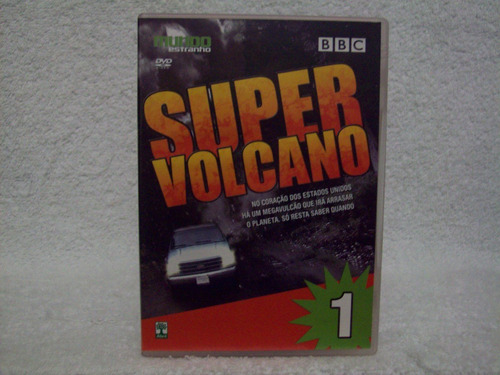 dvd original super volcano- volume 1- bbc
