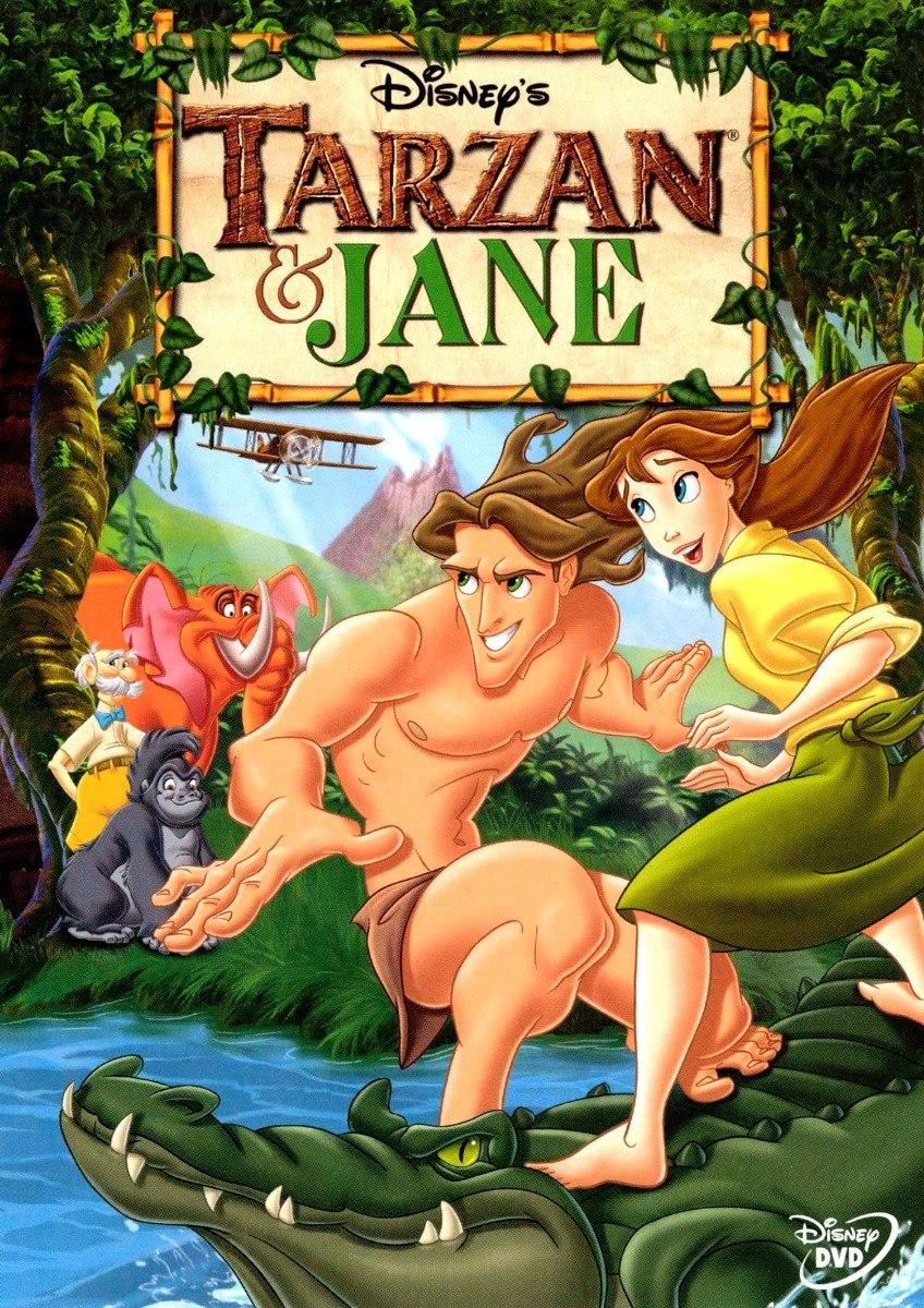 Dvd Original Tarzan E Jane Disney Desenho Dublado R 9