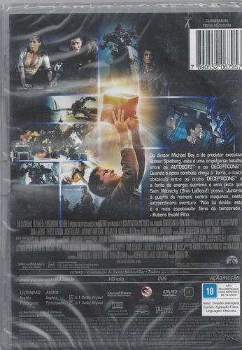 dvd original transformers  (cx 01) ok