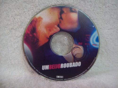 dvd original um beijo roubado