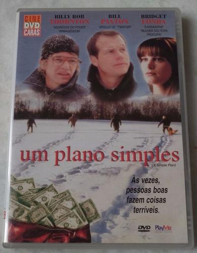 dvd original um plano simples