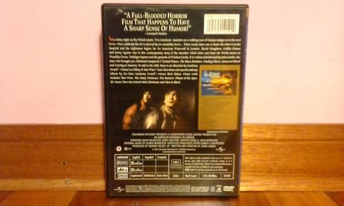 dvd original, un hombre lobo americano en londres