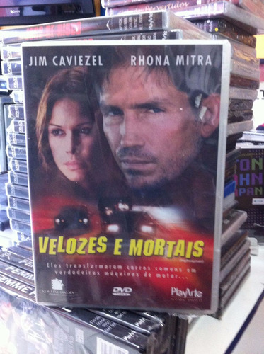 dvd original velozes e mortais (jim caviezel) lacrado