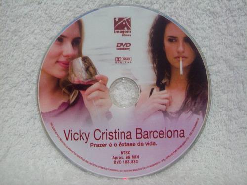dvd original vicky cristina barcelona