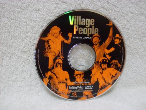 dvd original village people- live in japan
