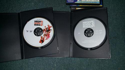 dvd originales high school musical colección completa