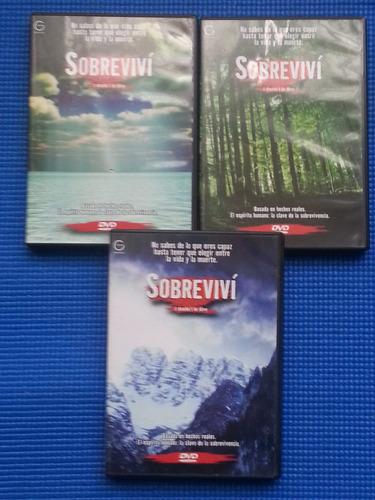 dvd originales serie sobreviví
