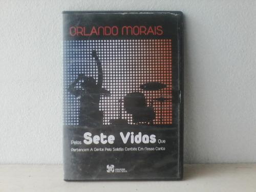 dvd orlando morais - pala a sete vidas - ao vivo
