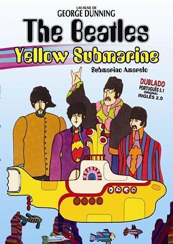 dvd - os beatles - submarino amarelo