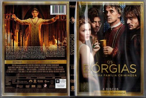 dvd - os bórgias - 2ª temporada - 4 discos - com luva